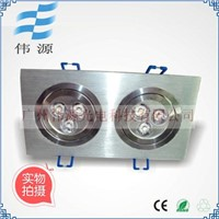 indoor 6w led ceiling lighting