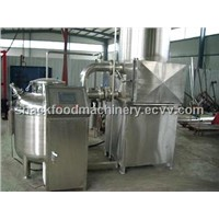 low-temperature vacuum frying and centrifugal de-oiling machine