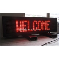 p10 outdoor red high brightness led display