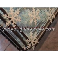 painting window glass(silk screen  insulated glass)