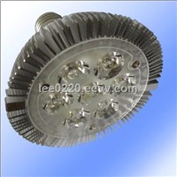 par30 e27 e26 7*1w led spot light dimmable