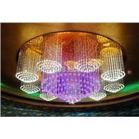 plastic optical fiber chandelier