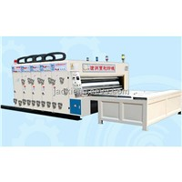 semi automatic high speed printing and slotting machine