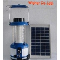 solar camping light WC-104
