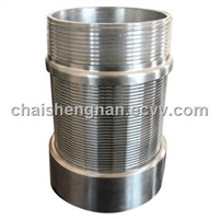 stainless steel   wedge wire johnson screen nozzles