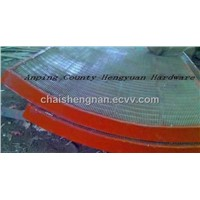 stainless steel welded wedge wire Arc screen mesh