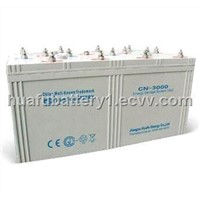 storage battery with 2V3000Ah