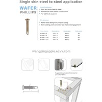 wafer self drilling screw