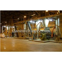 wood pellet production line with capacity from 2000-20,000 tons annually