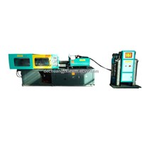 injection molding machine for feeding products