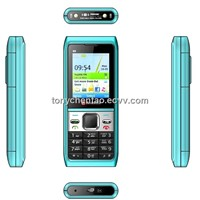 low end  mobile phone with two sim cards mp3,mp4,blue-tooth,FM and camera ,torch-lights N8