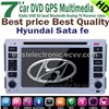 Hyundai santa fe car in dash stereo dvd gps player