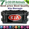 Kia borrego car DVD GPS player in dash stereo gps navigation