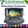 Wholesale Mitsubishi Outlander car DVD GPS player in dash stereo navigation maunfacture