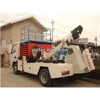 Dongfeng Recovery Mounted Scissor Lift