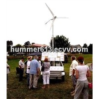 Hummer Wind Generator 500W battery based