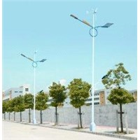 100W Solar and Wind Street Lights, solar road lamp for outdoor picnic >30000h