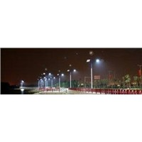 100w energy saving solar $ wind hybrid powered street lighting for geological exploration