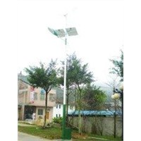 12V 100w off grid street lamp lighting with Battery 100A - 120A for bus station