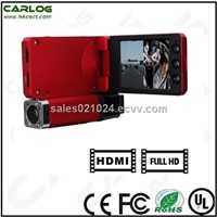 2012 New Item Car Camcorder with dual camera