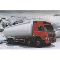 31 Tons Powdery Material Automatic Semi Truck