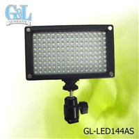 GL-LED144AS Compact Consistent LED Video Lighting