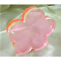 Acrylic Flower Shape Photo Frame