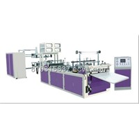 Automatic Non-woven Zipper bag making machine