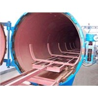 BW16.10 autoclave wood degrease antisepsis tank design