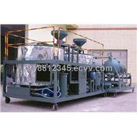 Black engine oil regeneration purification unit/ used motor oil recycling machine