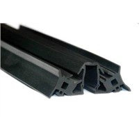 Co-extruded EPDM solid aluminium rubber door seals