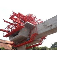 Custom Bridge Segmental Beam Lifter with Electric Winches