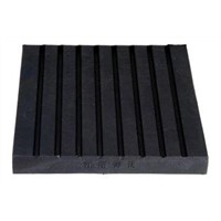 Custom molded vibration isolation rubber pad parts products