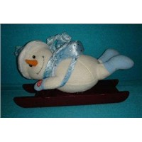 Cute Snowman Personalised Christmas Gifts for Kids