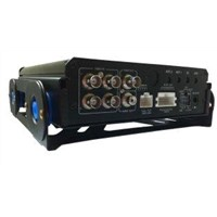 D1 704x576 Resolution 3G Mobile DVR Security Systems with H.264 High Profile
