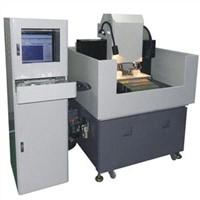 Double Spindle CNC Engraving Machine For Glass Gems Lens Ceramics Engraving