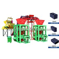 Double concrete block moulding machine QTJ4-26A(Tianyuan)