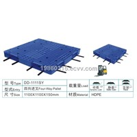 Double-faced All-in-one-shaped and  heavy duty plastic pallet