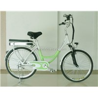 Electric Bike with 6061 Aluminum Alloy Frame and Lithium Battery, EN 15194/CE Marks