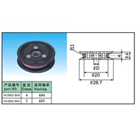 Flanged pulley(wire roller) for cable making machine