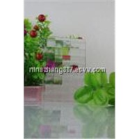 3mm,4mm,5mm clear  Flora Patterned Glass