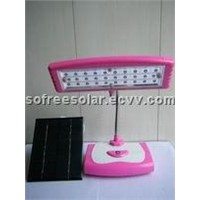 Folding Solar table light
