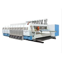 Fully Automatic flexo ink printing slotting machine for corrugator cardboard