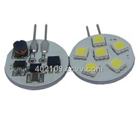 G4 Super Brightness LED Light Wide Power 8-30V(6SMD-5050-3chip)