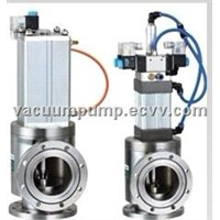 GDQ-J-A Series of Normally Closed Pneumatic High Vacuum Baffle Valve / Vacuum Valve