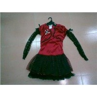 Halloween Character Costumes Witch Dress for Children