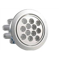High Brightness AC 85-265V power 12W 12pcs LED Aluminum alloy ceiling down lights