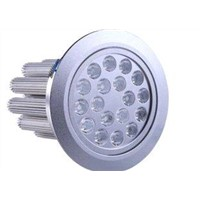 High Quality IP50 Aluminum alloy power 18W 8pcs LED Downlight for hotels, cafes WP-DO-18W