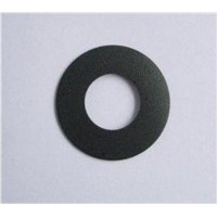 High and low temperature-resistant PTFE filled with carbon fiber gasket