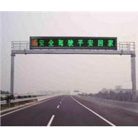 Highway Traffic Signs Single Color LED Display